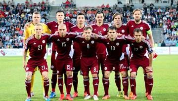 Latvijas futbola izlase piekāpjas Nīderlandes valstsvienībai