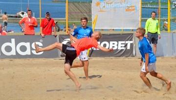 Ar atklāšanas svētkiem ievada jauno pludmales futbola sezonu