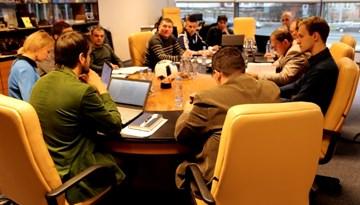 LFF reģionālo futbola centru vadītāji tikušies gada pirmajā sapulcē