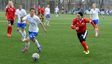 Liepāja uzņems sezonas otro Sieviešu Futbola līgas līderu dueli