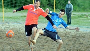 Sācies Rīgas čempionāts pludmales futbolā