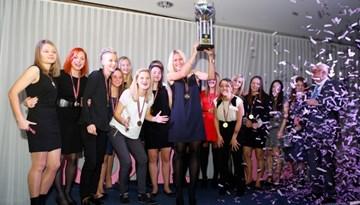 Apbalvotas Sieviešu Futbola līgas labākās sezonas spēlētājas un klubi