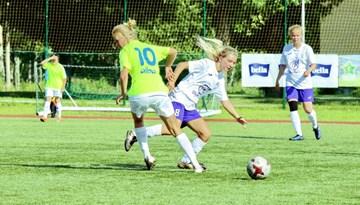 Noskaidrojies komandu sadalījums Sieviešu futbola 1. līgas čempionāta pirmajā posmā