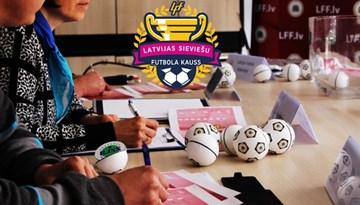 Izlozēti Latvijas Sieviešu futbola kausa izcīņas pirmā posma pāri
