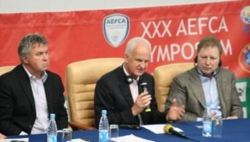 Starkovs un Kļosovs 30.treneru Simpozijā Minskā