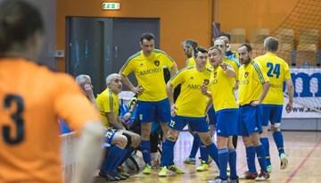 Startēs Latvijas telpu futbola veterānu čempionāts