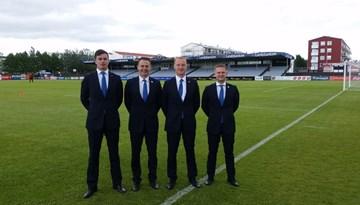 Latvijas tiesneši pārraudzījuši vairākas UEFA Eiropas līgas spēles