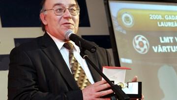 Latvijas gada labākā futbola žurnālista balva turpmāk tiks nosaukta Valērija Karpuškina vārdā