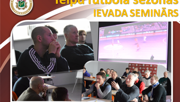 LFF aicina uz telpu futbola sezonas ievada semināru 12.oktobrī Rīgā