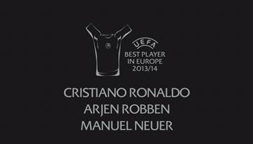 28.augustā kļūs zināms 2013./2014.gada Eiropas labākais futbolists