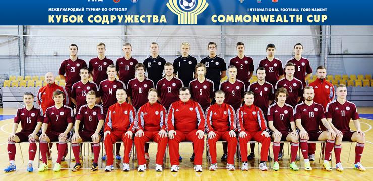 Latvijas U-21 futbola izlase uzsākusi Sadraudzības kausa izcīņu