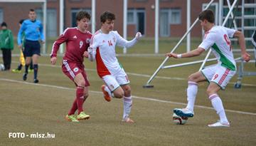 Latvijas U-17 izlase atkārtoti atzīst Ungārijas pārākumu pārbaudes spēlē