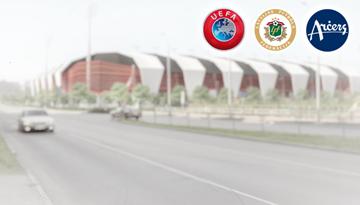 """LFF parakstīs līgumu ar SIA """"Arčers"""" par sporta kompleksa Kr. Barona ielā 116A rekonstrukcijas darbiem"""
