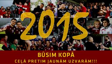 LFF sveic futbola sabiedrību Jaunajā gadā