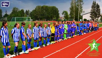 Olainē, Ventspilī un Rīgā turpināsies meiteņu futbola vasaras čempionāta spēles