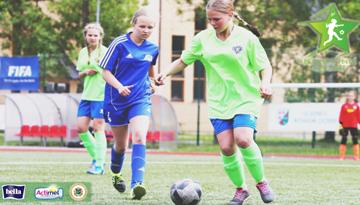 Latvijas meiteņu futbola čempionāta vecākajā grupā sāksies otrais spēļu aplis