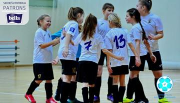 Meiteņu telpu futbola čempionātu noslēgs vēl divās vecuma grupās