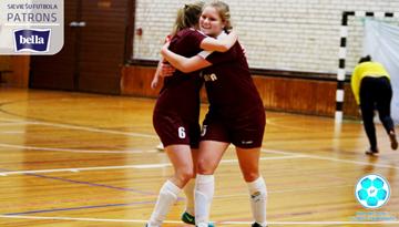 Latvijas meiteņu telpu futbola čempionātu uzsākušas visas dalībnieces
