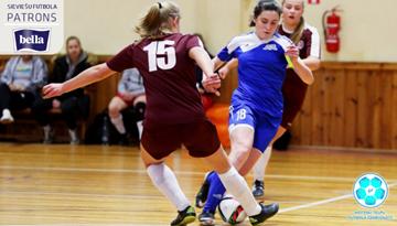 Latvijas meiteņu telpu futbola čempionāta spēles uzņems Jelgava, Rīga, Malta un Olaine