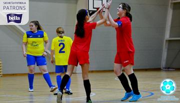 Piņķos otro sezonas sabraukumu aizvadīs Latvijas meiteņu telpu futbola čempionāta U-14 komandas