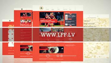 LFF.lv - futbola fanu un spēlētāju portāls jaunā formā