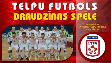 Pirms Pasaules čempionāta kvalifikācijas Latvijas telpu futbola izlase tiksies ar Spāniju