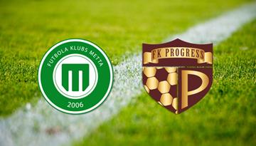 FK Progress/AFA Olaine un FK Metta/LU tiksies pārspēlēs par vietu Virslīgā