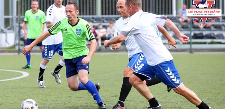Daugavpilieši turpina uzvaru gājienu Latvijas veterānu čempionātā
