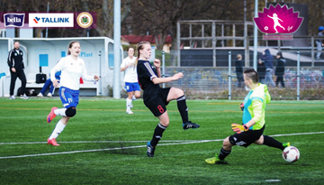 Sestdien Rīgā norisināsies Sieviešu Futbola līgas līdervienību duelis