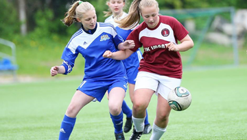 Aizvadīts Sieviešu Futbola 1. līgas čempionāta pirmais posms