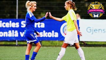 Rēzeknietes sagādā pārsteigumu un iekļūst sieviešu futbola kausa izcīņas finālā