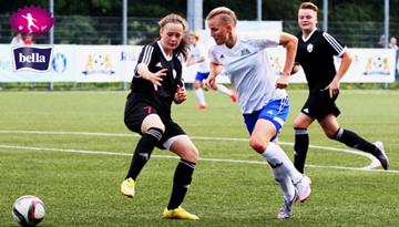 Rīgas Futbola skola sestdien Liepājā var nodrošināt Sieviešu Futbola līgas čempionu titulu