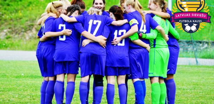Svētdien noskaidros Latvijas sieviešu futbola kausa izcīņas finālistes