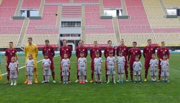 Latvijas U-19 izlase piekāpjas Anglijas izlasei