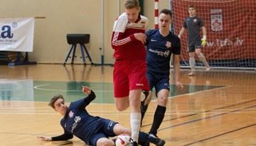 Salaspils 2001.dz.g. vienībai trešais panākums Latvijas jaunatnes telpu futbola čempionātā