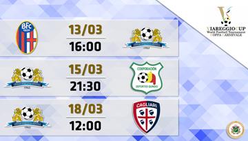"""Rīgas Futbola skolas jauniešiem starts prestižajā """"Viareggio"""" turnīrā Itālijā"""