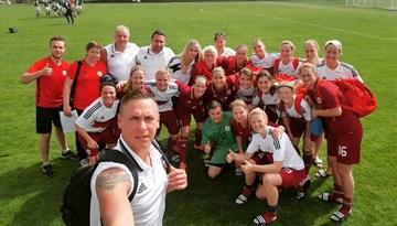 """""""Turkish Women's Cup"""": Latvijas izlase turnīra noslēgumā pārspēj Kazahtānu"""