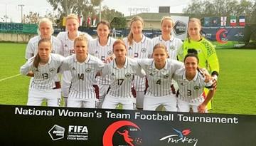 """""""Turkish Women's Cup"""": Latvijas izlasei neizdodas revanšēties Jordānijai"""