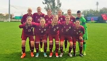 """Latvijas izlase """"Turkish Women's Cup – Alanya 2018"""" spēles izskaņā piekāpjas Polijai"""