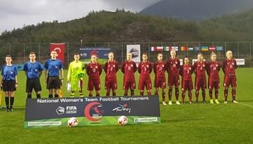 """Latvijas sieviešu izlase """"Turkish Women's Cup – Alanya 2018"""" ievadā piekāpjas Meksikai"""