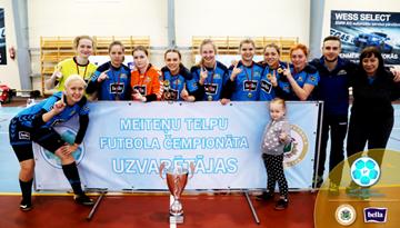 Meiteņu čempionāta vecākās grupas tituli ceļo uz Rīgu un Olaini