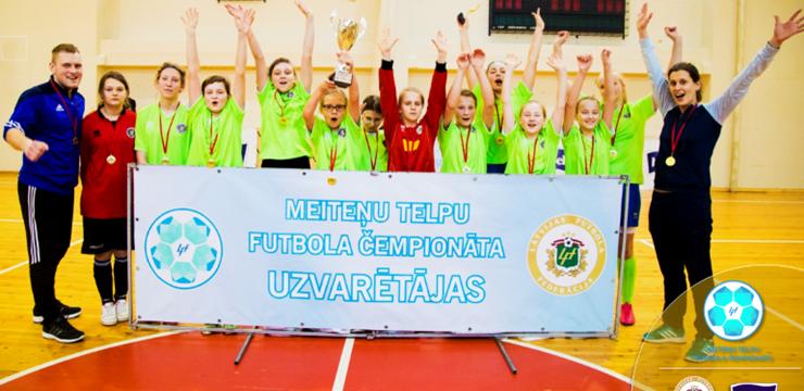 Rēzeknes BJSS meitenes nosargā U-14 vecuma grupas čempionu titulu