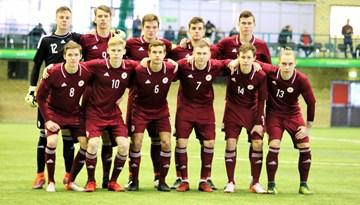 Latvijas U-19 izlase nospēlē neizšķirti ar FK METTA/LU