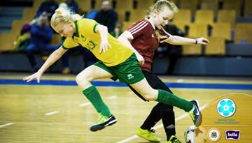 Meiteņu čempionātā zināmas U-14 grupas medaļu cīņu dalībnieces