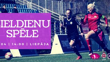 Lieldienu spēle Liepājā turpinās sieviešu futbola sezonas ievadīšanas programmu