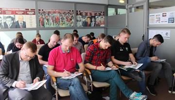 C-LFF treneru kursi pulcē gada otro apmācību grupu