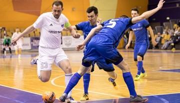 FK Nikars ar uzvaru sāk telpu futbola Virslīgas finālsēriju