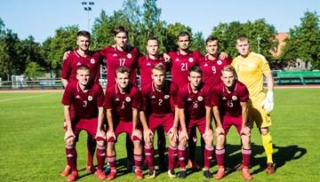 Latvijas U-21 izlase Baltijas kausa aizstāvēšanu sāk ar uzvaru