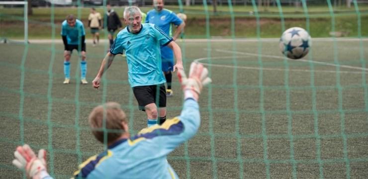 Veterānu čempionātā turpina uzvarēt Daugavpils komanda