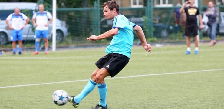 Daugavpils komanda nostiprina vadību veterānu čempionātā